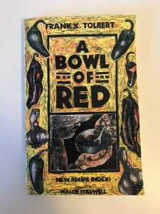 Tolbert Bowl of Red